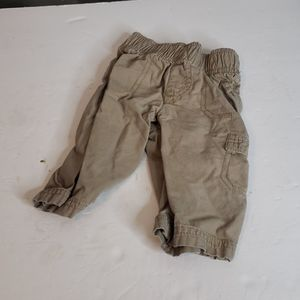 jumping beans Bottoms - 🖤5/$12 Jumping Beans Tan Cargo Pants Size 6 Month